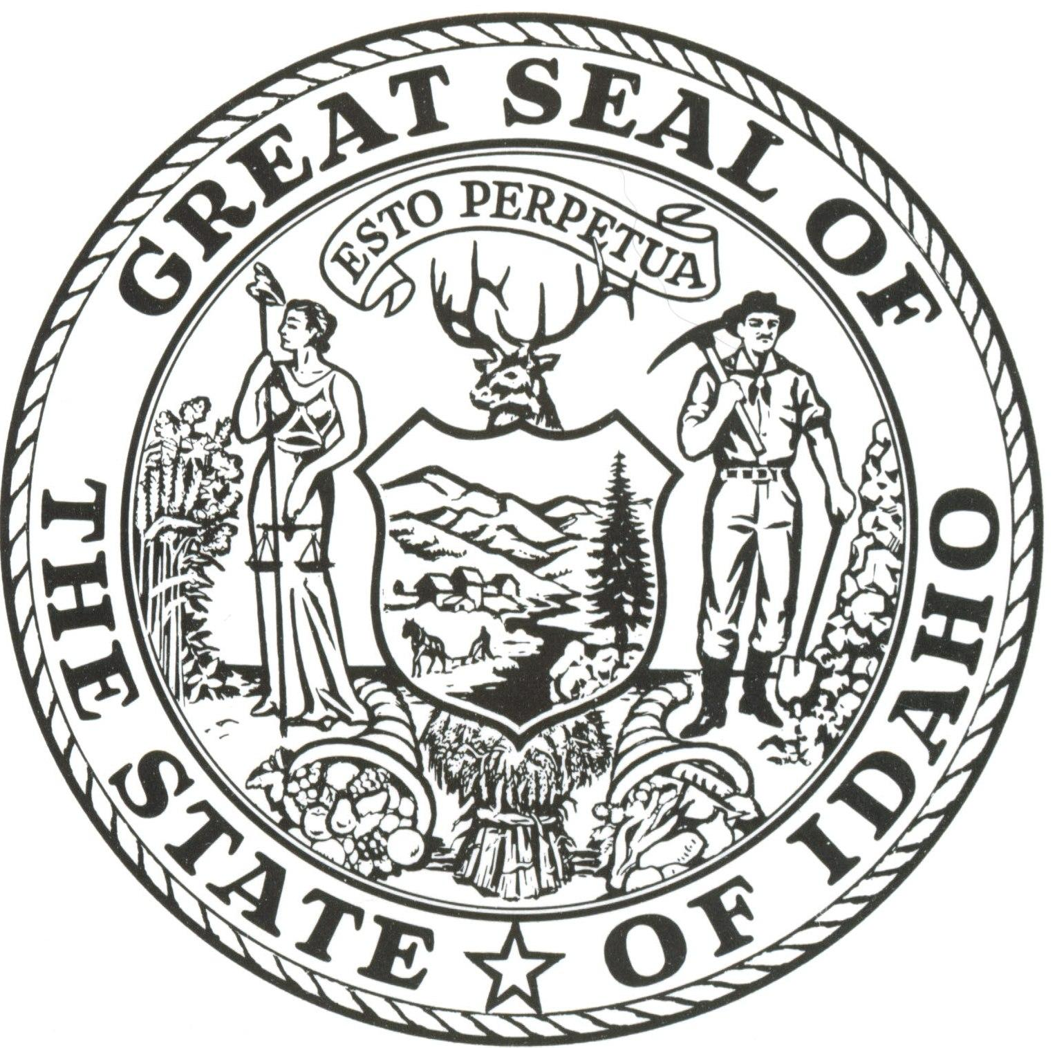 Idaho State Seal Images
