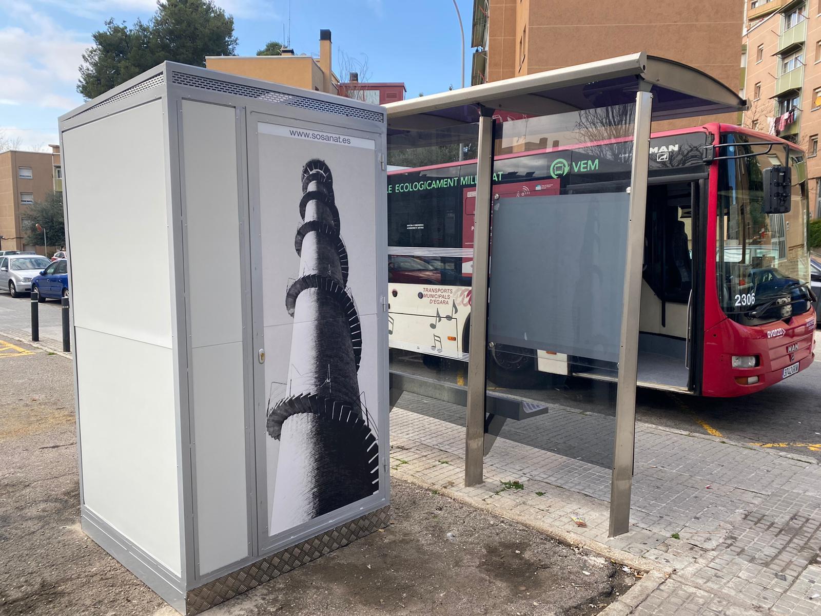 Baño portátil city bus sosanat