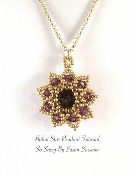 Bahai Star Pendant