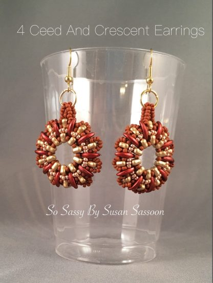 4ceed and Crescent earrings