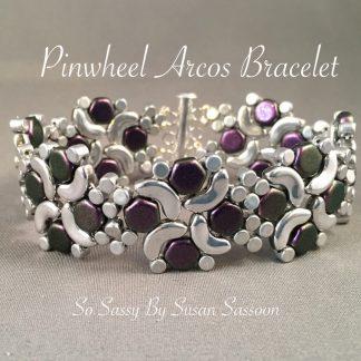 Pinwheel Arco Bracelet