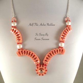Half Tila Arches Necklace