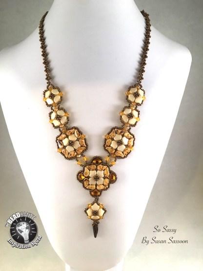 Ginko Diamond Necklace