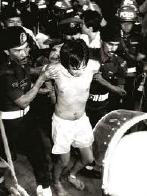 Jimmy Chua dan lima lagi banduan yang lain berjaya diberkas. Imej dari sejarahkini.