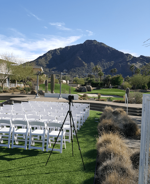 Shadow Mountain outdoor wedding live music