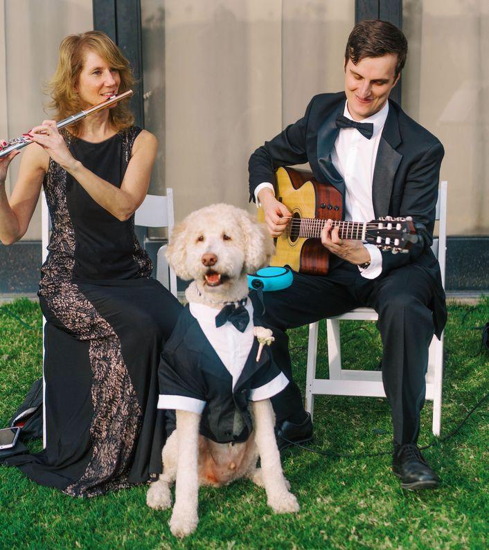 flute guitar music Teddy no mic Phoenix wedding
