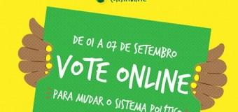 Campanha do plebiscito para reforma do sistema político está nas ruas