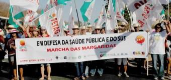 Margaridas lutam pela saúde pública e manutenção do SUS