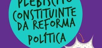 Comitês fazem ato pela constituinte no Recife
