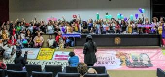 Frente Parlamentar Feminista Antirracista com Participação Popular é lançada na Câmara dos Deputados