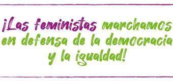 Feministas marchan contra la corrupción en Perú