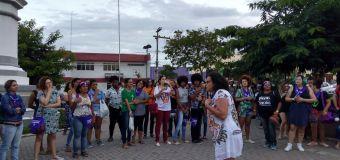 Ato denuncia estupro em Vitória de Santo Antão