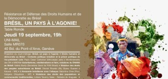 Resistência dos Direitos Humanos e da Democracia: Brasil, um país em agonia