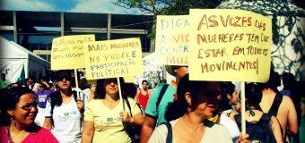 """""""Não queremos apenas inclusão, queremos transformação! Mulheres na luta por mudanças radicais no sistema político"""""""