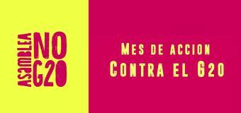 Novembro: Mês de ação contra o G20 na Argentina!