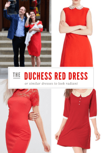 Duchess red dress