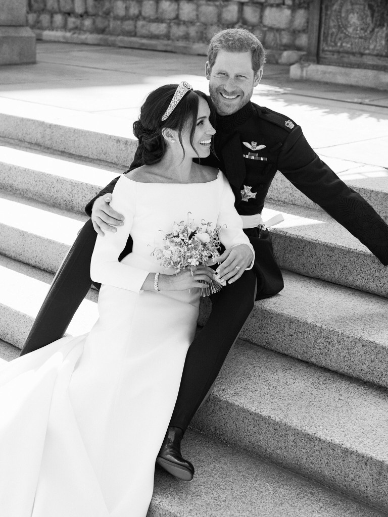 Harry and Meghan official picture