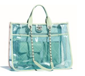 transparent Chanel bag