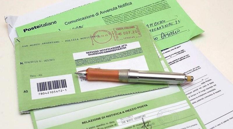 La notifica durante l'emergenza non garantisce i diritti del cittadino