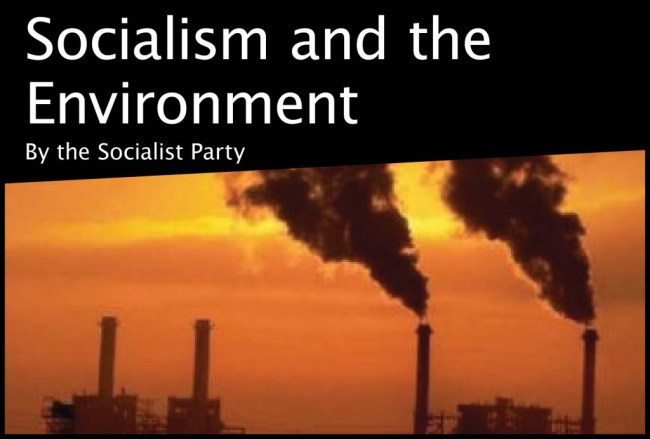 socialism-and-environment