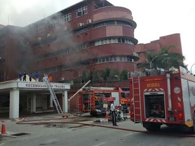 Tragedi Kebakaran di Hospital Meningkat