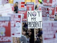 Protest Anti-Trump di Seattle