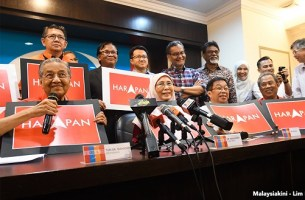 Malaysia: A 'people tsunami' boots out party in power for six decades