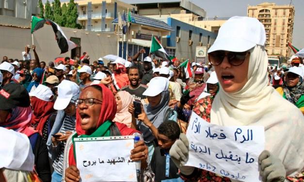 Sudan : Bantah Keganasan Rejim dengan Perjuangan Revolusi Sosialisme