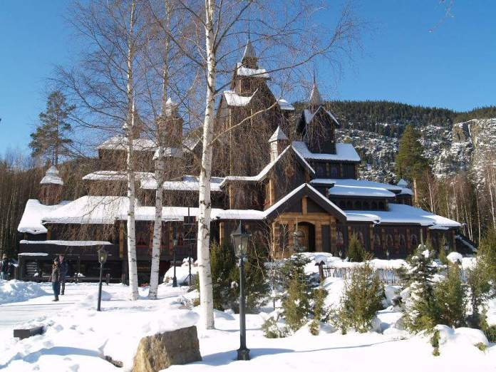 Fairy House In Hunderfossen, Lillehammer_c02713f2f31138a2d1190fb83d662496