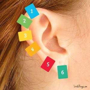 seks punkt i øret