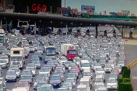 trafikk beijing