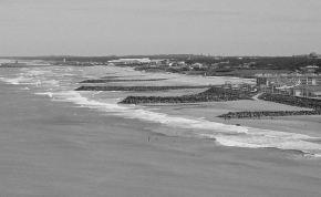 Avril 1998, marée basse, gros coefficient de marée