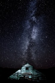 Milky Way, Preserved Light Photography