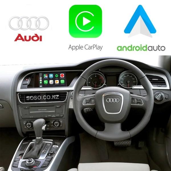 Auto Retrofit - Audi A4 S4 Rs4 (2009-2015) Apple Carplay &Amp; Android Auto Retrofit Kit