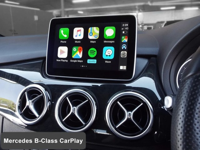 Auto Retrofit - Mercedes B-Class With Wireless Apple Carplay Installed By Auto Retrofit