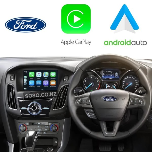 Auto Retrofit - Ford Focus 2012~2017 Wireless Apple Carplay &Amp; Android Auto Integration Kit