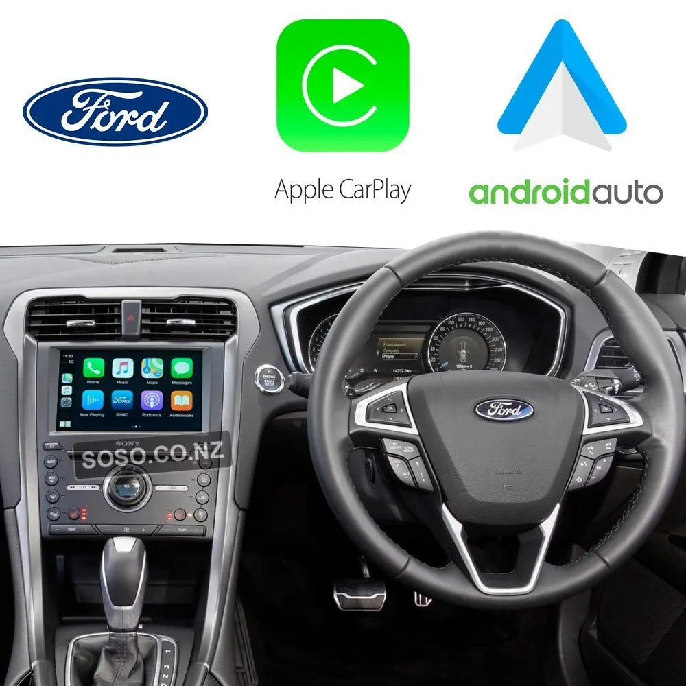 Auto Retrofit - Ford Mondeo 2015~2017 Wireless Apple Carplay &Amp; Android Auto Integration Kit