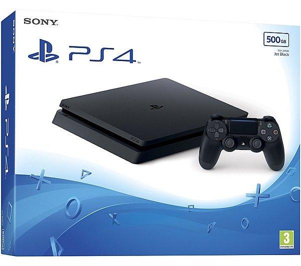 PS4 500gb Slim Console-Black 3