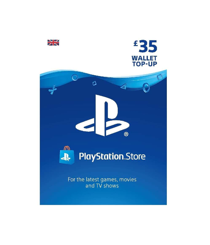 £35 Gbp Playstation Wallet Top Up Uk Account
