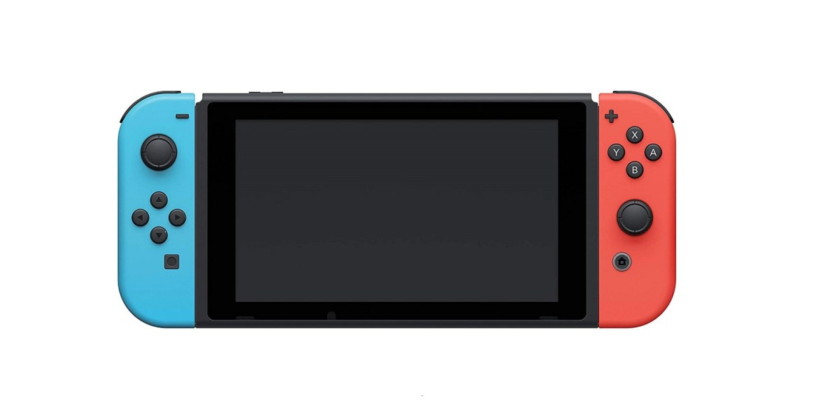 Nintendo Switch Console With Neon Blue And Neon Red Joy‑Con™ 2