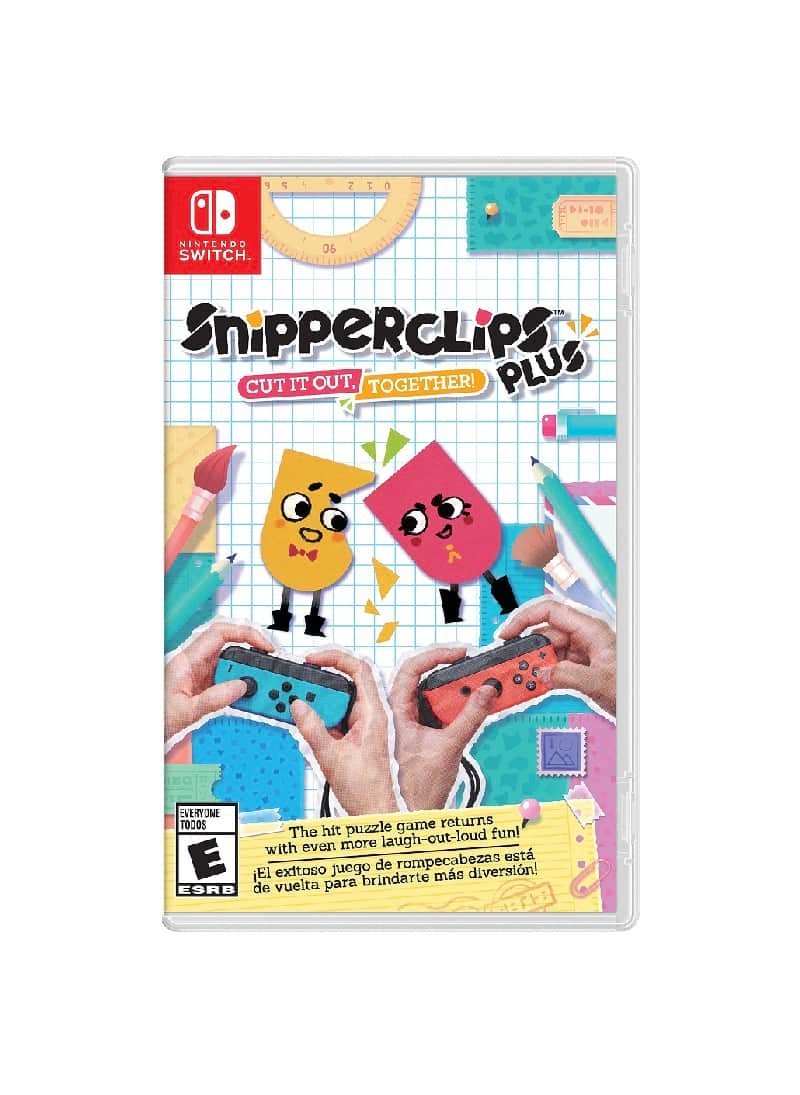 Snipperclips Plus – Cut It Out Together!