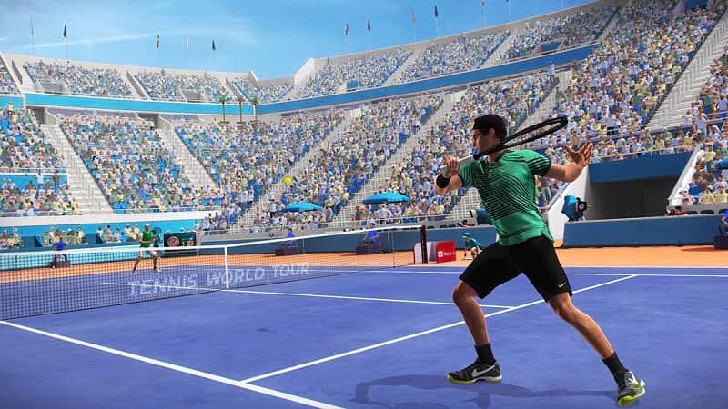 Tennis World Tour Switch Screenshot06
