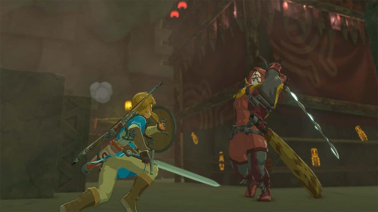 The Legend Of Zelda-Breath Of The Wild