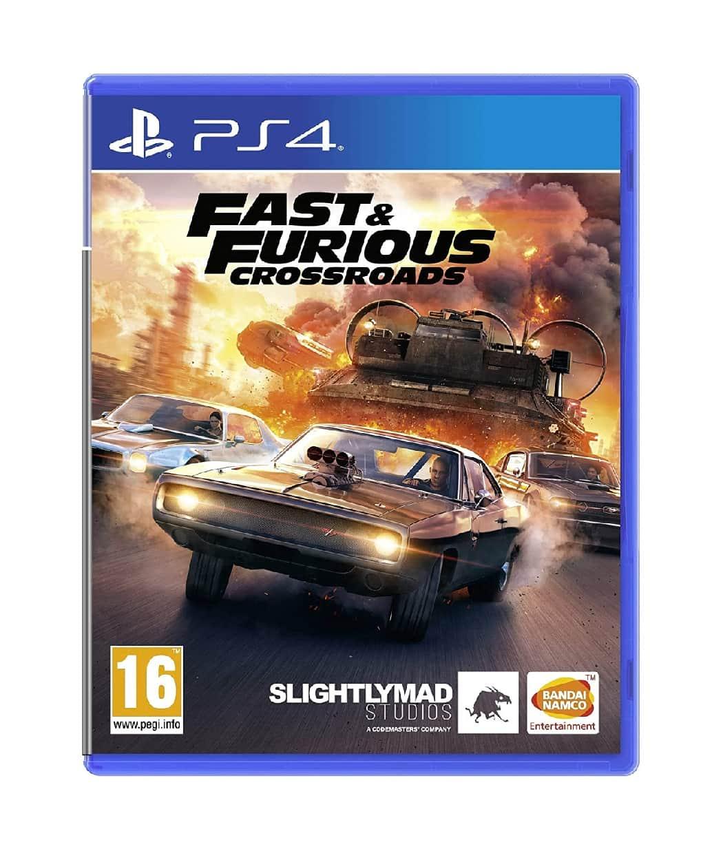 Fast & Furious Crossroads – Playstation 4
