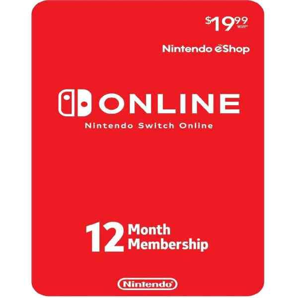 Nintendo Switch Online 12-Month Sosogames