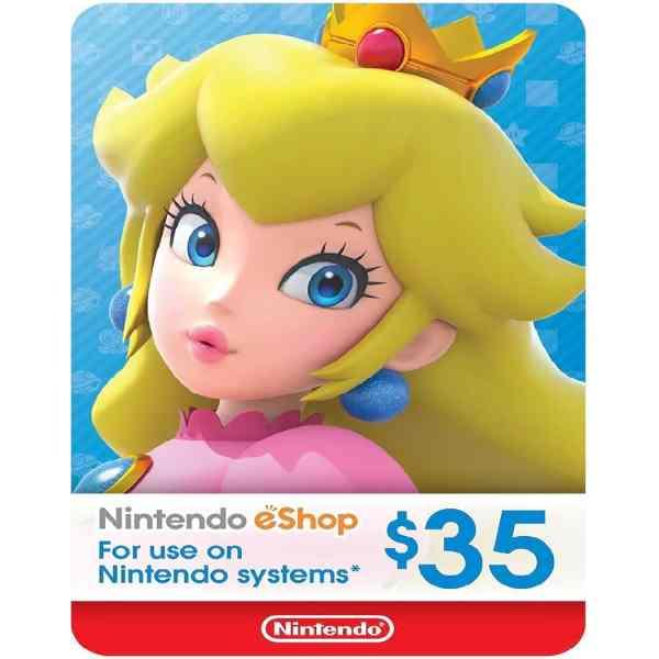 Nintendo $35 eShop Card Sosogames