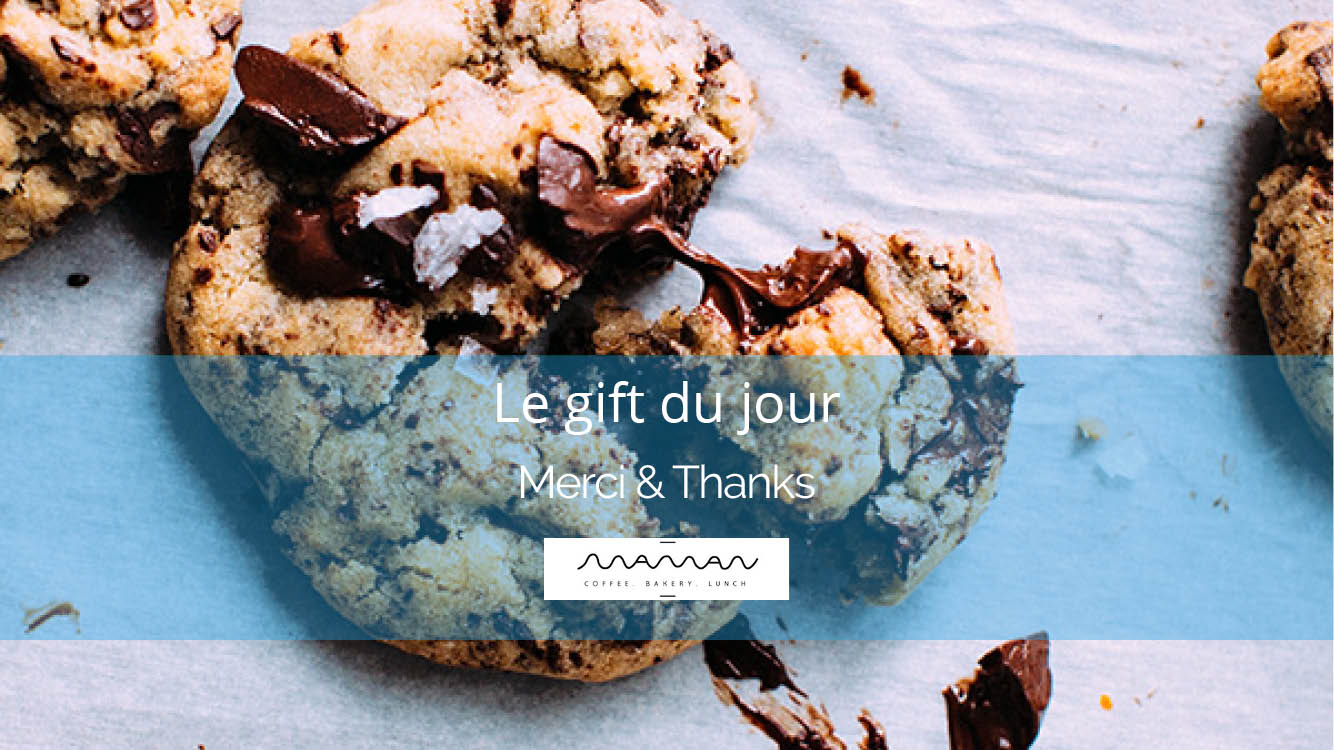 Cookies from Maman NYC