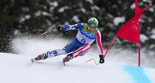 Olympic skiier