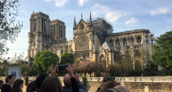 Notre Dame cathedral easter 2019