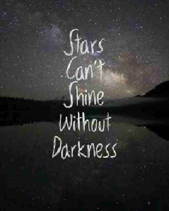 Stars darkness quote